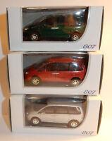 NOREV 3 INCHES 1/64 PEUGEOT 807 V6 208 CV 205 KM/H en 3 COULEURS au choix