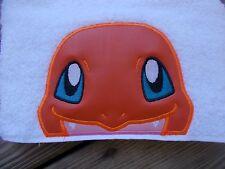 Pokemon Charmander Hooded Towel. Great for Bath, Pool or Beach! Bath Wrap