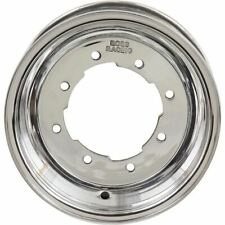 Polished 10x5, 4/144-4/156, 3+2 Boss Racing Spun Aluminum Front Wheel - W105-P