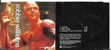 MAXI CD SINGLE ROBBIE WILLIAMS 3 TITRES ROCK DJ DE 2000