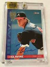2016 Topps Archives Signature Series Tom Glavine Encased Auto # 2/2 Braves
