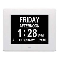 Clock Led Desktop Temperature Alarm LCD Display Calendar Digital Electronic Home