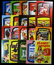 Lost Wacky Packages Variations Uncut Puzzles Series 1-9 Complete Set of Twenty