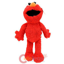 "Sesame Street Elmo Plush Doll 18"" X Large Stuffed Toy Figure with Plastic Eye"