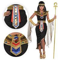 Adulto Reina Cleopatra Egipcia para Mujer Diosa Conjunto Sexy Bn Disfraz