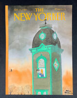 COVER ONLY ~ The New Yorker Magazine, October 31, 1988 ~ Charles Addams