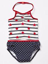 NWT New Baby Gap Girl Americana Ruffle Swim 2pc 5T