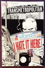 Transmetropolitan I Hate it Here. One shot (DC 2000) Rare. VF+ Condition.