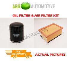 Diesel service kit huile filtre à air pour fiat brava 1.9 75 bhp 1996-01