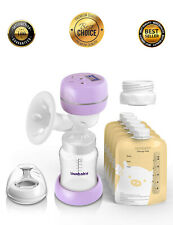 Electric Breast Pump, Breast Feeding Pumps, Pain Free Strong Suction Power!