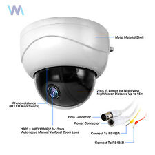 CCTV 1080P 2MP IR Mini PTZ Dome Camera AHD/CVI/TVI/CVBS 3x zoom 2.8-8mm Lens