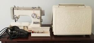 Sears Kenmore Portable Sewing Machine 1040 Rose Case 158-10400 For Repair
