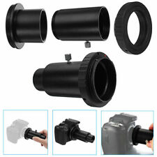 New 1.25'' Extension Tube & Telescope Mount Camera Adapter T-Ring For Canon EOS