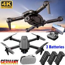 WiFi RC Drohne Faltbar HD 1080P 4K Kamera 3 Batterie Quadrocopter Selfie Drone