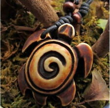 Cool Hawaiian Surfing Turtle Pendant Necklace