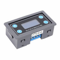 Time Delay Relay Module Digital LCD Display 6-30V Control Timer Switch sdsa
