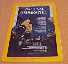 National Geographic Junio 1967 Illinois Francés Riviera Antartida más Alto Peak
