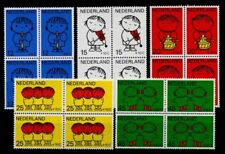 Pays-Bas 1969 Mi. 928-932 Neuf ** 100% Les blocs de quatre. Pour les enfants