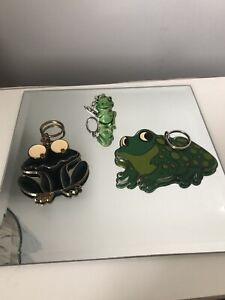 frog keychain Collection Of 3