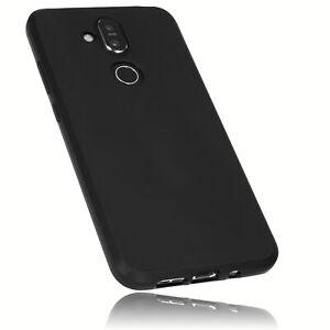 mumbi Hülle für Nokia 8.1 Schutzhülle Case Cover Tasche Handy Schutz Bumper Etui