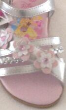 Sandals Disney Princess girls size 8M EUR25 new man made materials lights silver