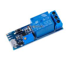 5V -30V Micro USB Power Delay relay Timer control module Trigger delay switch