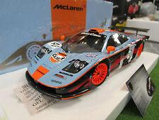 McLAREN F1 GTR GULF #41 LE MANS 1997 OLOFSSON 1/18 MINICHAMPS 530133741 voiture