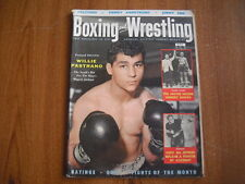 BOXING and WRESTLING - NOVEMBER 1956 - WILLIE PASTRANO