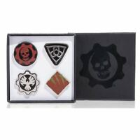 Gears War Collectible Pin Set of 4 COG Outsider Swarm Exclusive Limited Edition