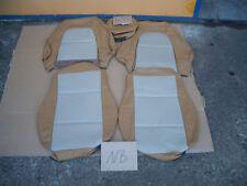 MX5 MX 5 NB Ledersitzebezug Lederbezüge  Echtleder Tan / Beige Re & Li  Nr. 5215