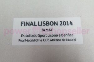 Real Madrid UEFA Champions League Final Lisbon 2014 Match detail Badge/Patch