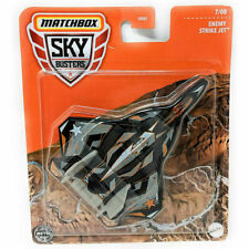 Matchbox Sky Busters Enemy Strike Jet Metal Dei-cast