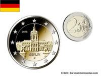 2 Euros Commémorative Allemagne 2018 Lander UNC