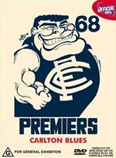 "AFL Premiers 1968 Carlton Dvd ""New"""