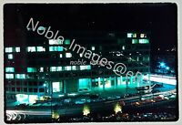 1966 Washington DC Street Scene Blurred Lights Connecticut & T Kodachrome Slide