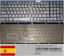 Teclado Qwerty Español MSI GT60 GT70 GT780 GX780 V123322BK1 S1N-3EES271-SA0