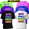 CUSTOM T-SHIRT Personalized any COLOR MEN WOMEN Up To 6XL name team number text