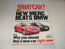 WHAT CAR ?   MAGAZINE  JULY    2000    ENGLISH MONTHLY