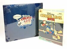Disney Cruise Line 2005 Scrapbook Refillable Albums New Set of 2 *Free Shipping*