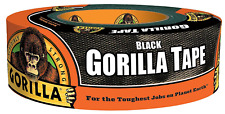 Black Gorilla Duct Tape Heavy Duty Double Thick 1.88 Inches X 35 Yard 1 Roll