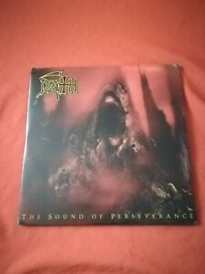 DEATH - The Sound Of Persevarance 2 x  vinyl clear with red splatters