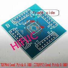 1PCS B Type TQFP32 TQFP44 TQFP64 Adapter PCB SMD Convert DIP Prototyping
