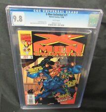 X-Men Unlimited #21 (1998)  Marvel Comics Todd DeZago Story CGC 9.8 V625