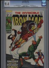 Iron Man 15 CGC 9.4  1969 Marvel Comic