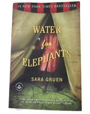 Water for Elephants A Novel by Sara Gruen Paperback