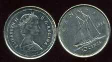 CANADA 10 cents  1988