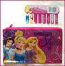 DISNEY PRINCESS - PENCIL CASE (Name Insert) Pink - 14 x 22cm Small Kids -  NEW