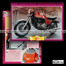 #018.08 Fiche Moto SHIFTY 900 (Moteur de FIAT 127) 1979 Motorcycle Card