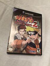 NARUTO: CLASH OF NINJA 2 NINTENDO GAMECUBE Video Game No Manual