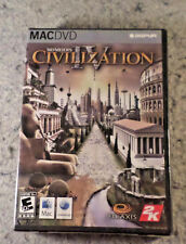 Sid Meier's Civilization IV MACDVD-ROM NEW Sealed in factory plastic wrap(C2B3)
